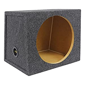 "Rockville Hatchback Sub Box Enclosure For Rockford Fosgate P3D4-12 12"" Subwoofer"