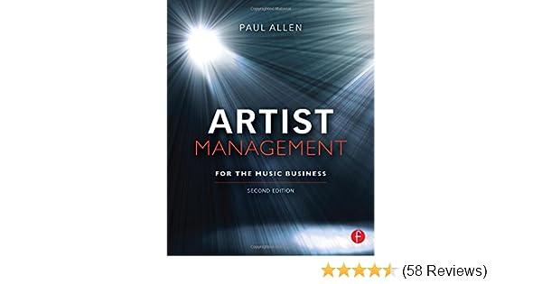 artist management for the music business second edition paul allen rh amazon com Artist Management Paul Allen Artist Management Paul Allen