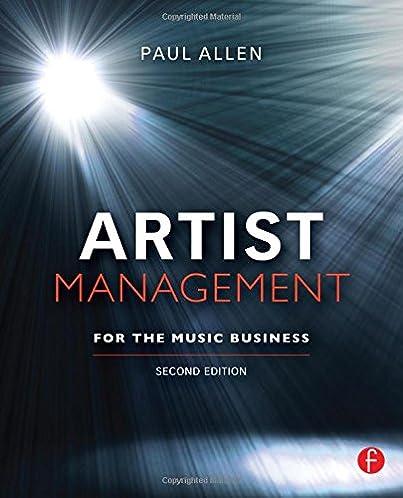 artist management for the music business second edition paul allen rh amazon com Atlanta Artist Management Hip Hop Artist Management