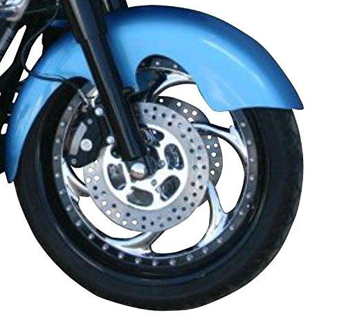 Klock Werks Tire Hugger Series Front Fender for 21in. Front Wheel - Aero KW05050036