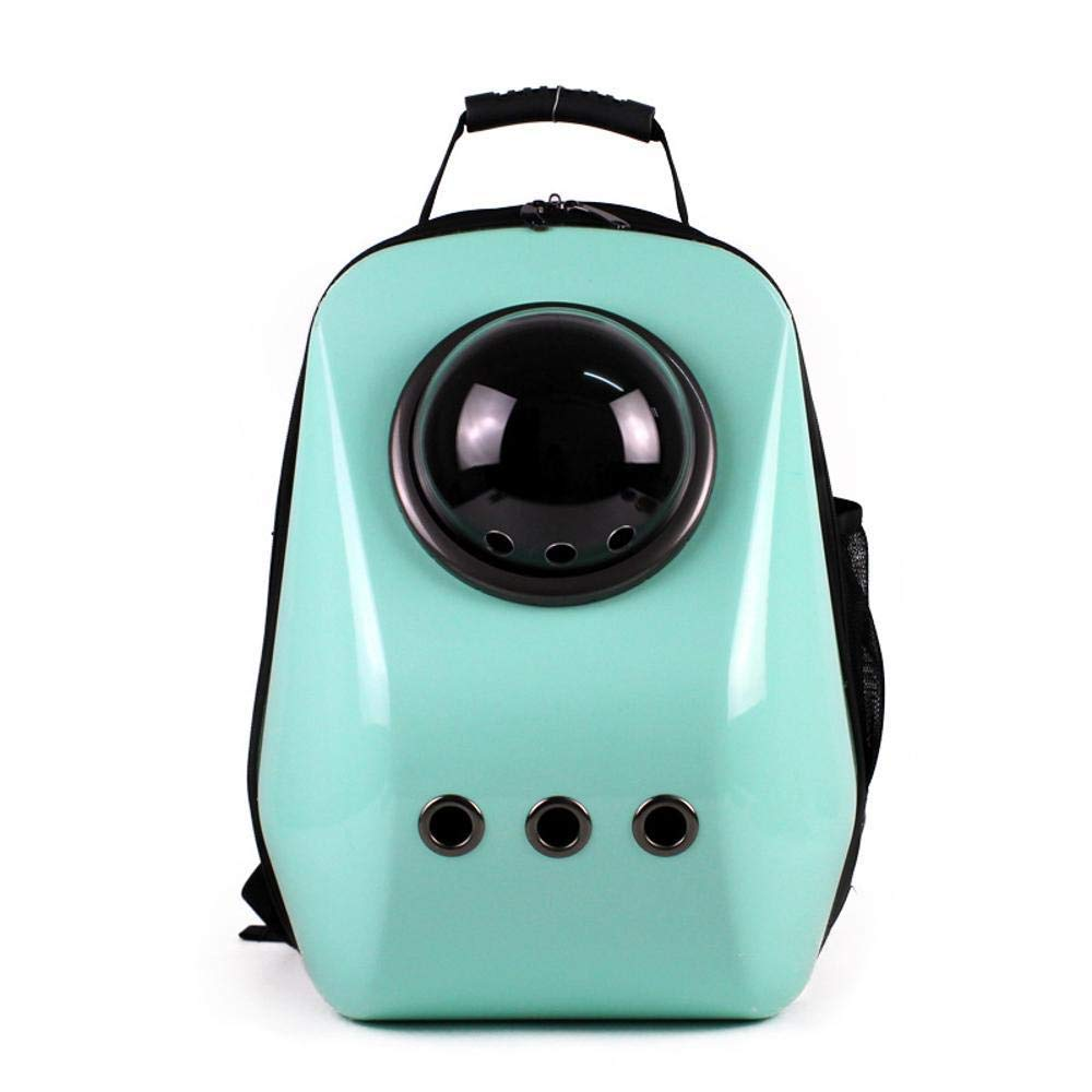 Deluxe Multi Cat Tower Pet Backpack Portable Breathable Capsule Dog Bag Outdoor Handy Kitty Backpack pet Transport Bag Suitable for 4-6 kg or so Dog