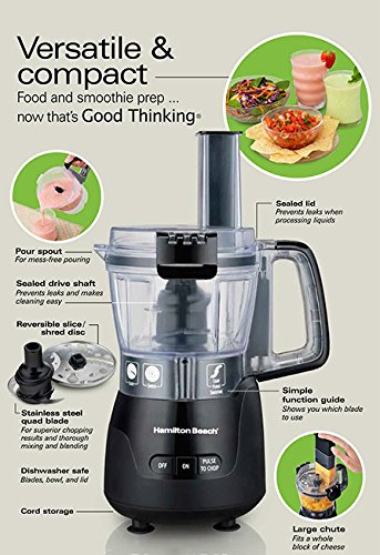 Hamilton Beach Stack And Snap Food Processor Manual