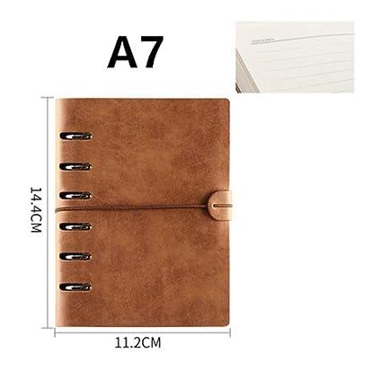 Cuaderno A7 Agenda Viaje Dibujo Escritura Calendario ...