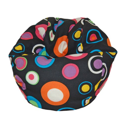 jelly bean bag chair pink - 2