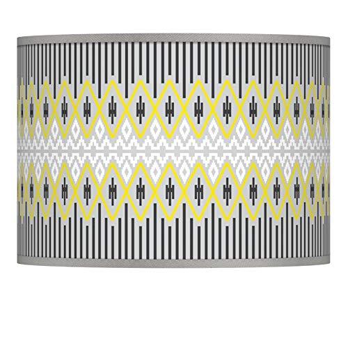 Desert Geometric Giclee Lamp Shade 13.5x13.5x10 (Spider) - Giclee Glow