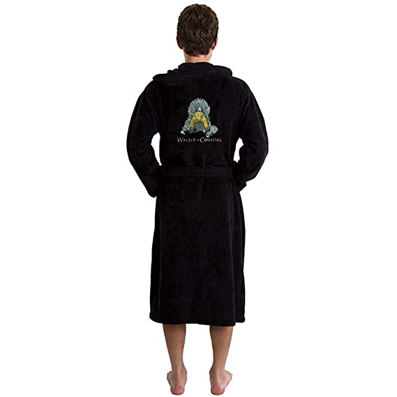 Inspired Walter is Coming Bathrobes in Black - L XL  Amazon.co.uk ... 084a54394