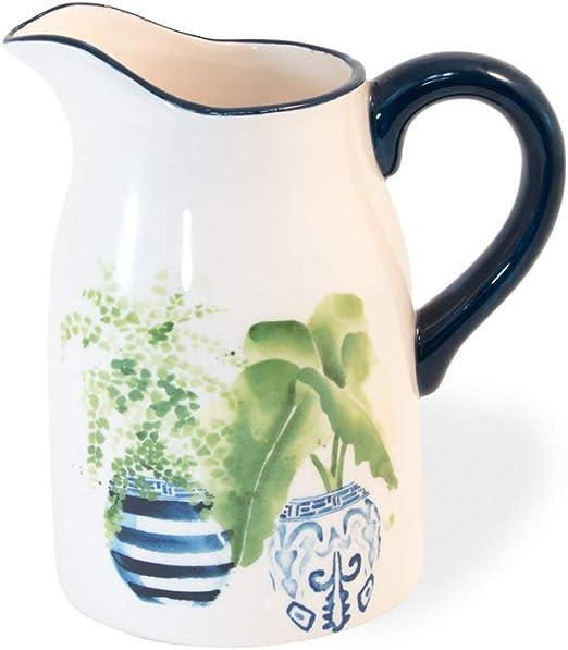 Amazon.com: Topiary Plants - Jarra de cerámica con asa ...