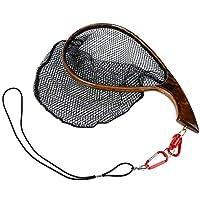 Yoomoo Fly Fishing Landing Trout Net Catch Release Net -...
