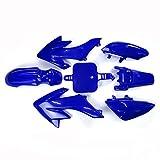 TC-Motor Blue Plastic Fender Fairing Kits Kit For Honda XR50 CRF50 50 Chinese 50cc 70cc 90cc 110cc 125cc 140cc 150cc 160cc Dirt Pit Bike