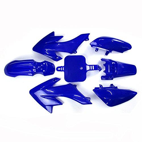 TC-Motor Blue Plastic Fender Fairing Kits Kit For Honda XR50 CRF50 50 Chinese 50cc 70cc 90cc 110cc 125cc 140cc 150cc 160cc Dirt Pit (Dirt Bike Plastic Kits)