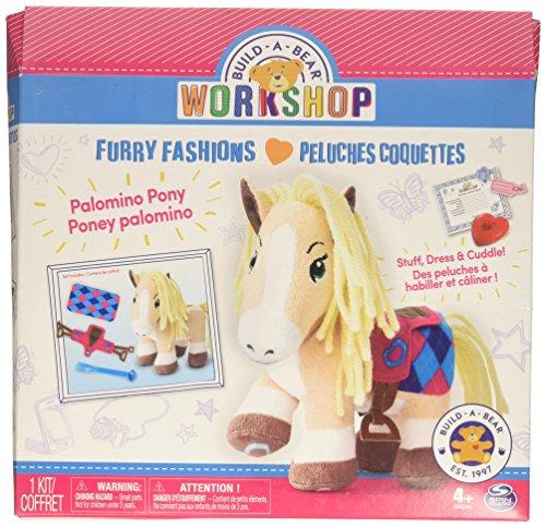 Build A Bear Workshop   Furry Fashions   Palomino Pony