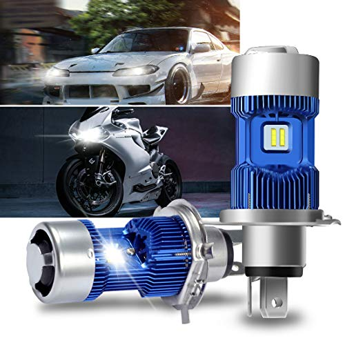 9003 headlight bulb led blue - 7
