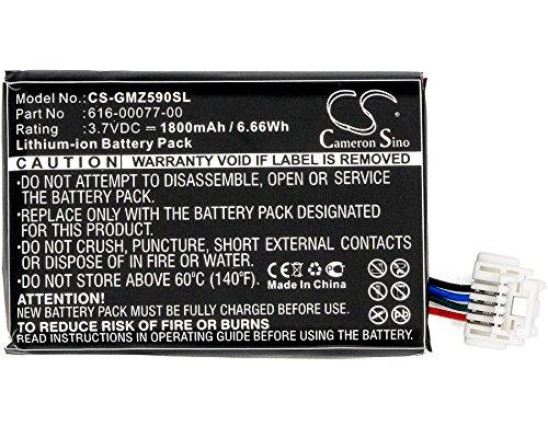Batería Garmin Zumo 590 590LM 595 010-12110-003