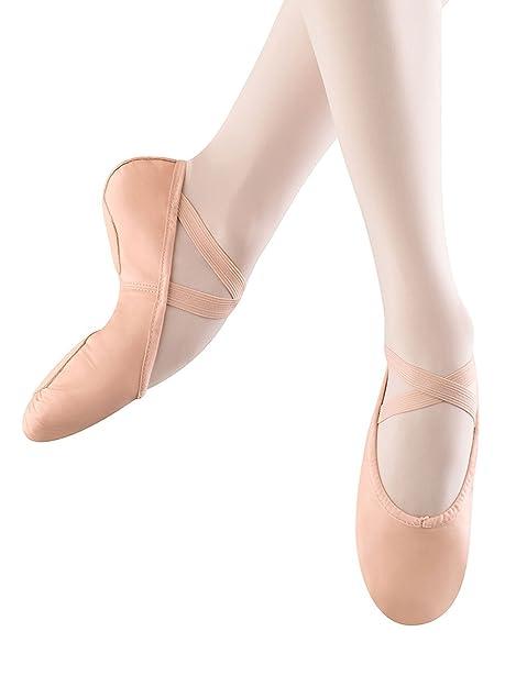 Bloch - Zapatillas de ballet Prolite II de piel sintética con suela dividida para mujer, Rosado (Rosado), 8 B US: Amazon.es: Zapatos y complementos