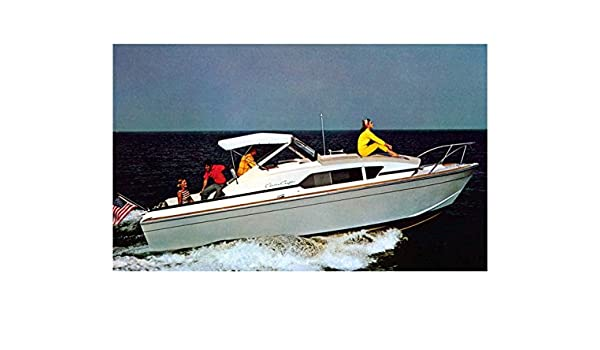 Amazon com: 1970 Chris Craft 26 Catalina Power Boat Factory