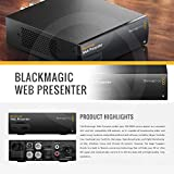Blackmagic Web Presenter with Microphone and Deluxe