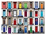 #7: Melissa & Doug 1,000-Piece Knock Knock Doorways Jigsaw Puzzle (29 x 23 inches)