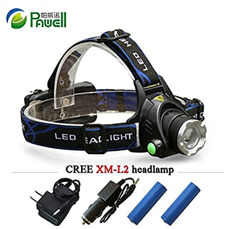 3000LM XM-L T6 LED Head Torch Fashlight Headlamp Rechargeable Headlight 18650 Lights, Lanterns & Torches