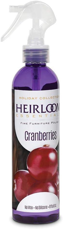 Heirloom Essentials Furniture Polish (Cranberries)