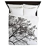 CafePress - Tree Girl Shirt - Queen Duvet Cover, Printed Comforter Cover, Unique Bedding, Microfiber