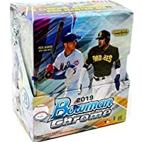 $219 » 2019 Bowman Chrome MLB Baseball HOBBY box (12 pks/bx)