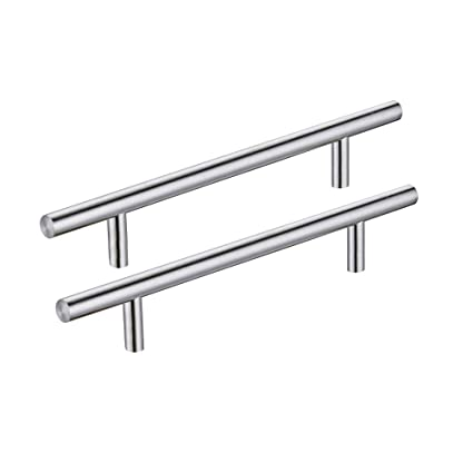 Kes Solid Stainless Steel Cabinet Pulls And Handles 128 Mm Or 5
