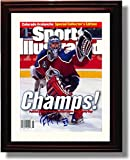 Framed Patrick Roy Sports Illustrated Autograph Replica Print - Colorado Avalanche Champs 1996!