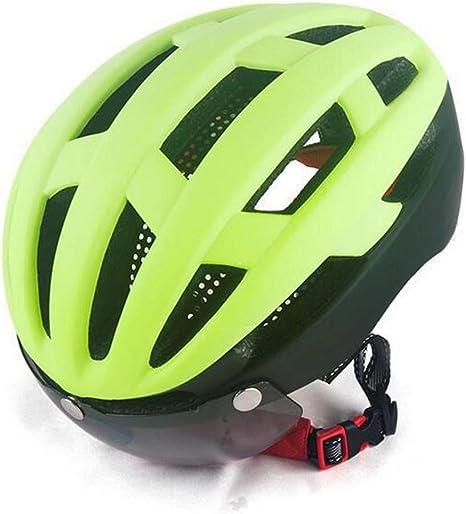 LAIABOR Bicicleta Casco de Ciclo Protegido Ciclismo Casco ...