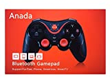 Anada Bluetooth Game Controller, Bluetooth Gamepad, Wireless Phone Controller For Android Phone / Tablet / TV Box