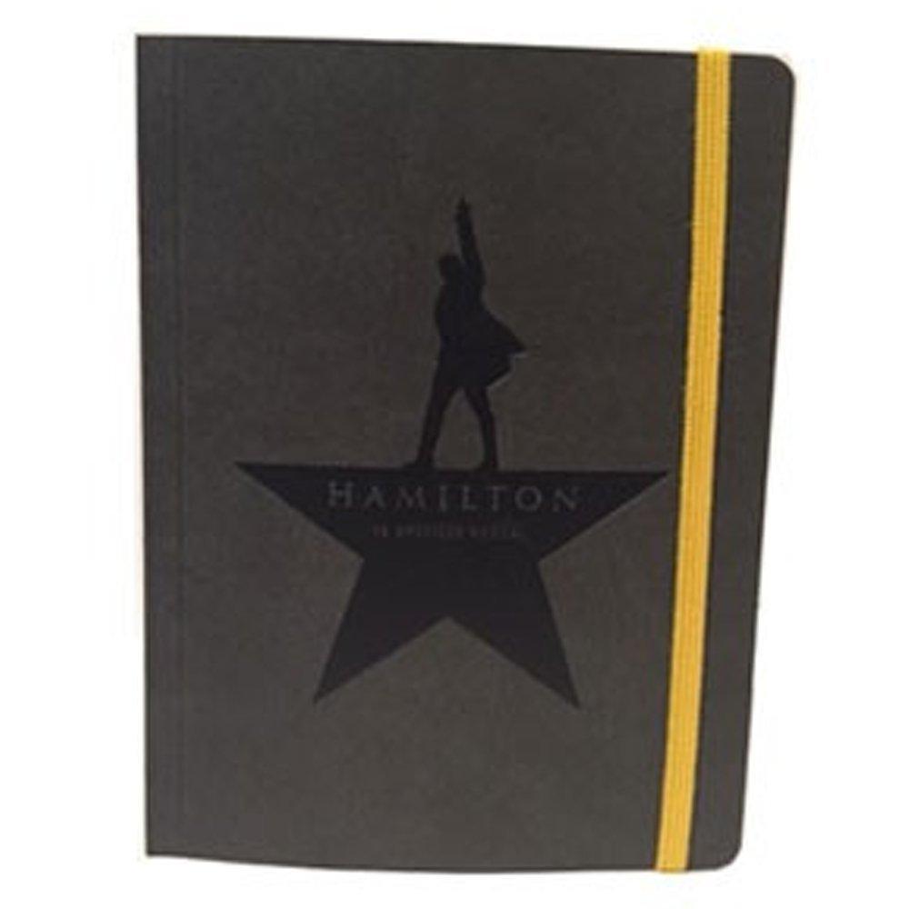 Official Hamilton An American Musical Logo Notebook