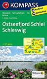 Ostseefjord Schlei, Schleswig: Wanderkarte mit Radrouten und Reitwegen. GPS-genau. 1:35000 (KOMPASS-Wanderkarten, Band 708)