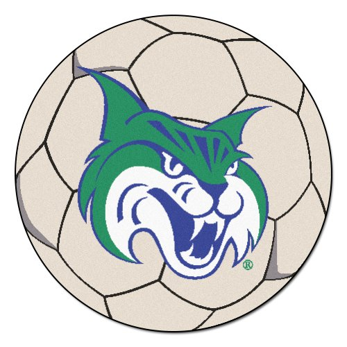 Rug Soccer Ball Georgia - FANMATS NCAA Georgia College & State Univ Bobcats Nylon Face Soccer Ball Rug