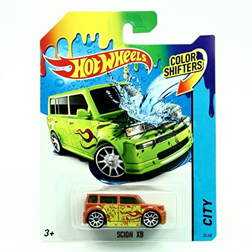 SCION XB * COLOR SHIFTERS * 2014 Hot Wheels City Series 1:64 Scale Vehicle #33/48 ()