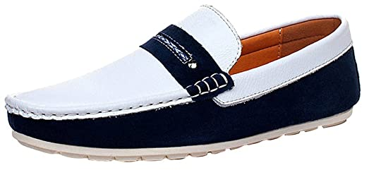 FJQY-8281 New Mens Stylish Casual Loafers Slip-on Smart Driving Shoes