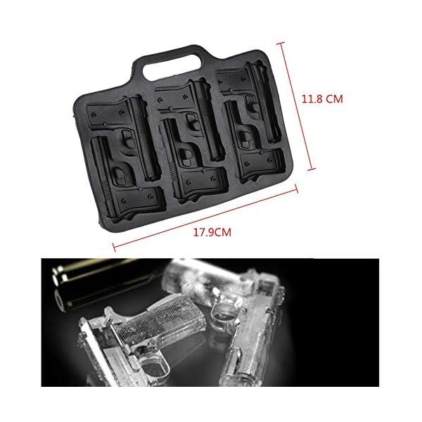 XuBaoFu-SH, 2019 20 cm x 10 cm x 5 cm Stampo for cubetti di ghiaccio Stampo in plastica Grande vaschetta for gelato… 1 spesavip
