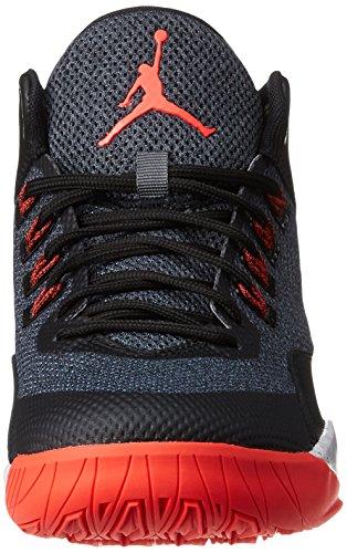 29b3d47b356c ... Nike Jordan Rising High 2 - Sneakers Herren grau (Dark Grey   Infrared  23 ...