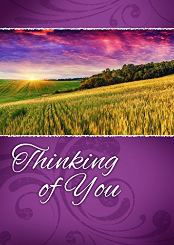 12 Boxed Thinking of You Greeting Cards - Across the Miles - KJV Scripture Included in Each Card! Bulk Thinking of You Cards & 12 Envelopes Boxed Cards Beautiful Landscape Photography Photo #4
