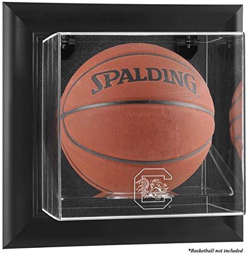 (South Carolina Gamecocks Black Framed Wall Mountable Basketball Display Case)