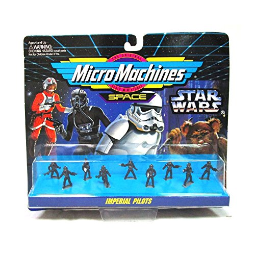 (Micro Machines Star Wars Imperial Pilots Figures Set)