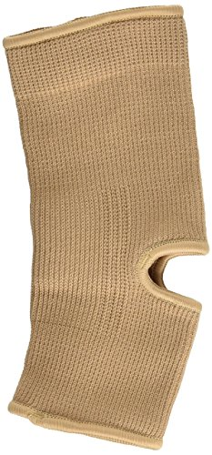 Curad Elastic Pull-Over Ankle Support with Open Heel, Small