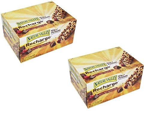 Nature Valley Energy Bar Cherry Dark Chocolate with Almonds: 30 Bars of 1.77 Oz - Tj