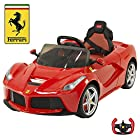 BigToysDirect 12V Ferrari LaFerrari Kids Electric Ride On Car with MP3 and Remote