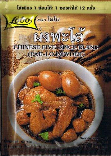 Thai Food Chinese Five-Spice Blend (Pae-Lo Powder) Lobo Recipe Cuisine Menu Cooking (65g.) by ThaiTopPlus