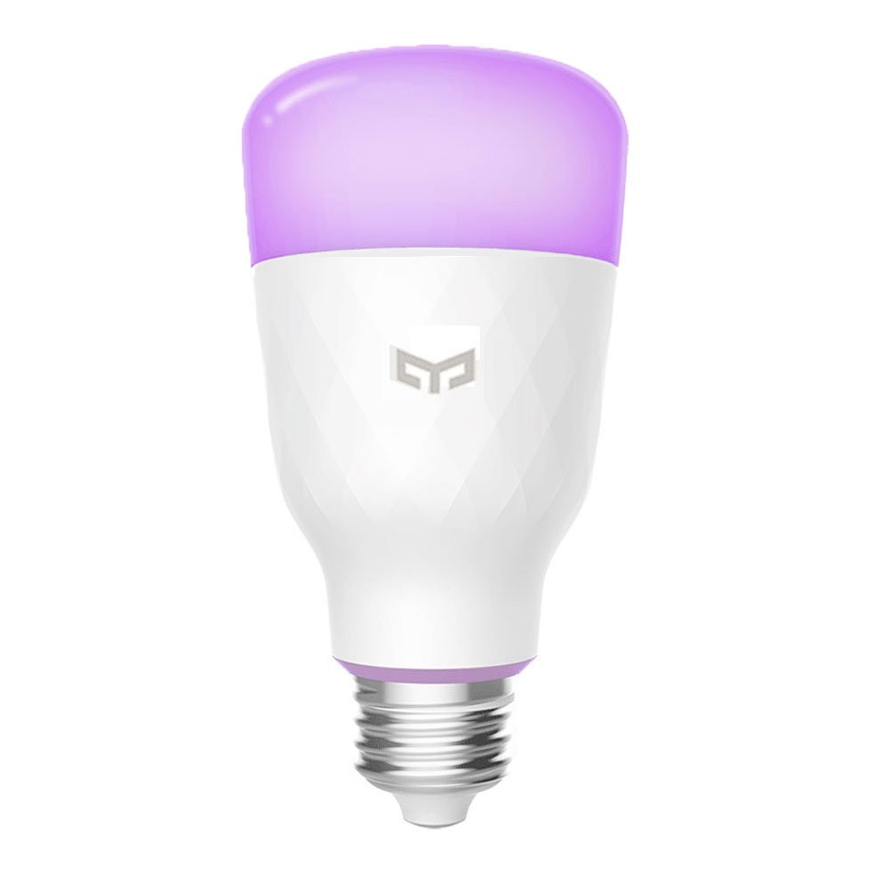 Smart LED Light Bulb,16 Million Colors E26 10W 110V RGB Dimmable 800lm Wi-Fi Bulbs, Compatible with Alexa, Google Assistant (Multi-Colored)