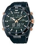 Lorus Men's Analogue Quartz Watch with Rubber Strap - RW615AX9
