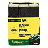 3M Sanding Sponge, Fine/Medium, 3.75-Inch by 2.625-Inch by 1-Inch,  3-Pack