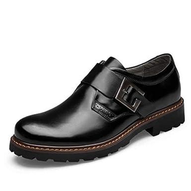 8f4e39ac7d32 Amazon.com: Hilotu Men's Fashion Oxford Dress Shoes Comfort OX ...
