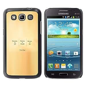 Stuss Case / Funda Carcasa protectora - VICTOR HUGO - CITA - Samsung Galaxy Win I8550