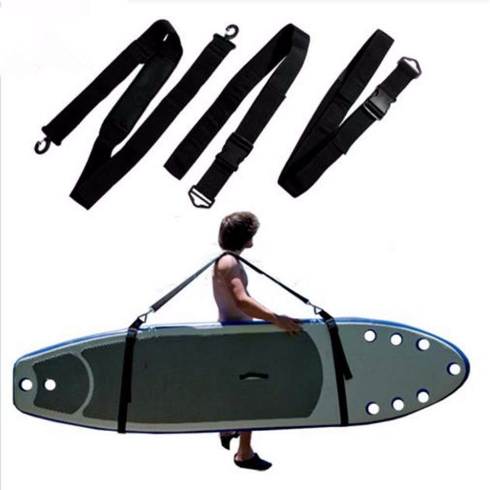 Correa de transporte ajustable tabla de surf accesorio de surf tabla de surf kayak para canoa duradera f/ácil de transportar