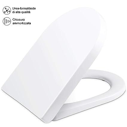 Sedile Wc Dolomite Clodia Prezzo.Yissvic Sedile Copriwater Dedicato Per Vaso Dolomite Clodia Bianco